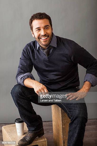 Actor Jeremy Piven is photographed for InStyle Magazine on January 21 2011 in Park City Utah