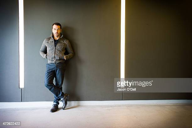 Actor Jeremy Piven is photographed for New York Moves on February 4 2014 in Los Angeles California