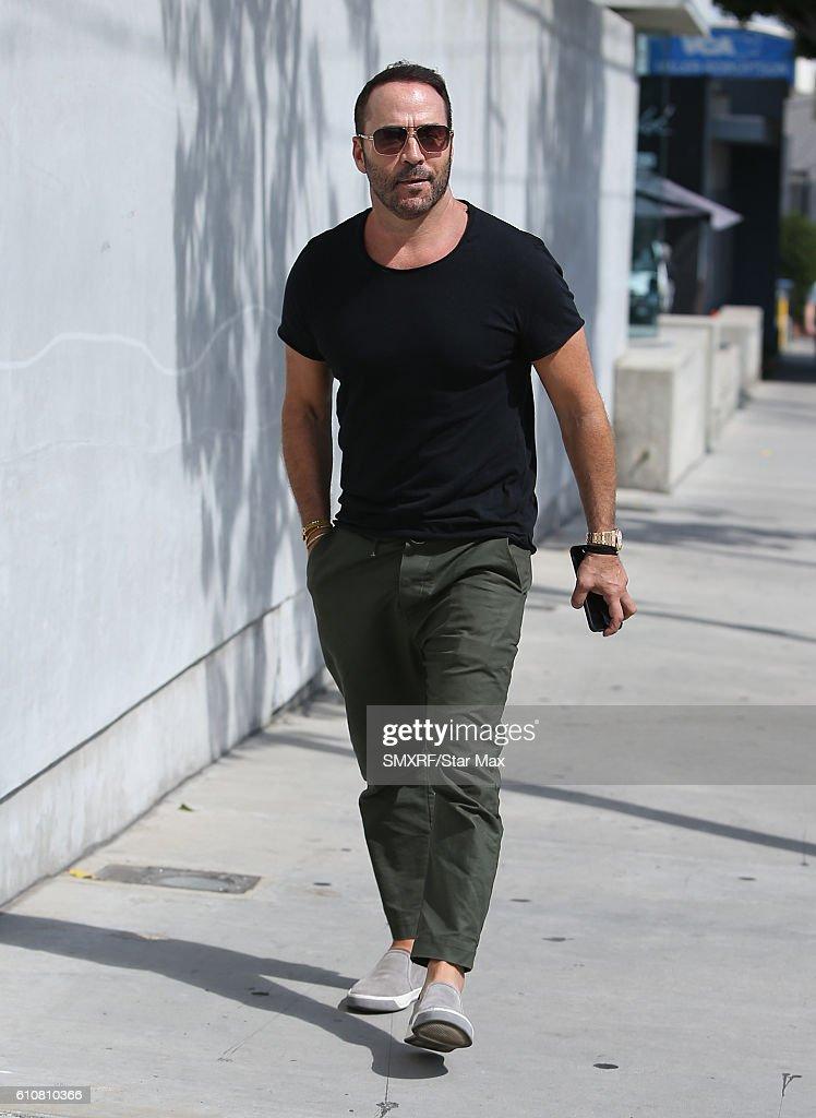 Celebrity Sightings In Los Angeles - September 27, 2016 : Fotografía de noticias