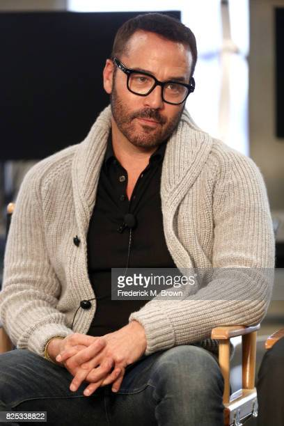 Actor Jeremy Piven of 'Wisdom of the Crowd' speaks onstage during the CBS portion of the 2017 Summer Television Critics Association Press Tour at CBS...