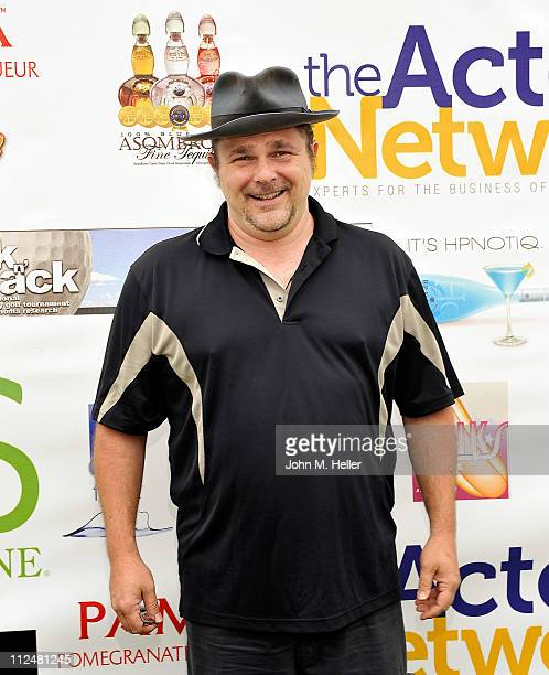 Actor Jeremy Ratchford attends the 8th Annual Hack N' Smack Celebrity Golf Tournament at El Caballero Country Club on April 18 2011 in Tarzana...
