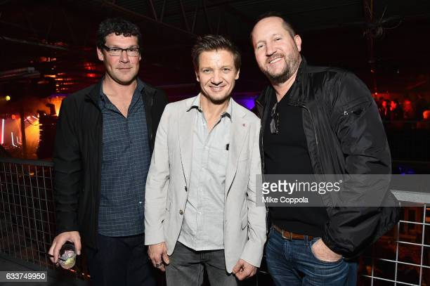Actor Jeremy Renner and guests attend the 13th Annual ESPN The Party on February 3 2017 in Houston Texas