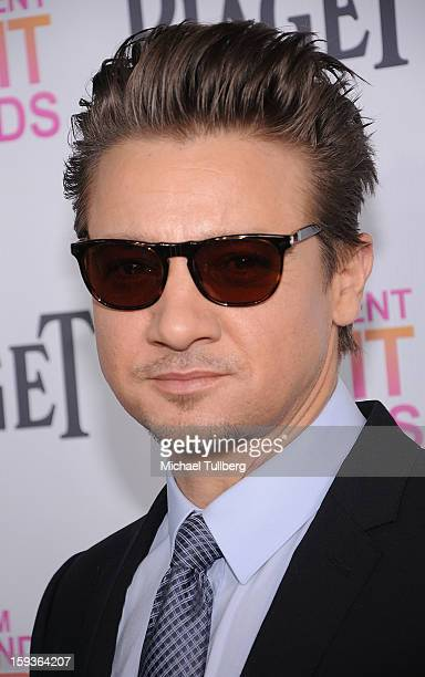 Actor Jeremy Renner arrives at a brunch honoring the nominees for the 2013 Film Independent Filmmaker Grant and Spirit Awards at BOA Steakhouse on...
