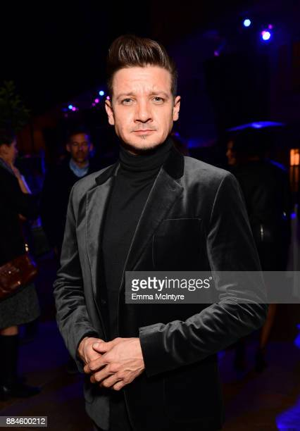 Actor Jeremy Renner attends a cocktail party for 'Wind River' at Circa 55 Restaurant on December 2 2017 in Los Angeles California