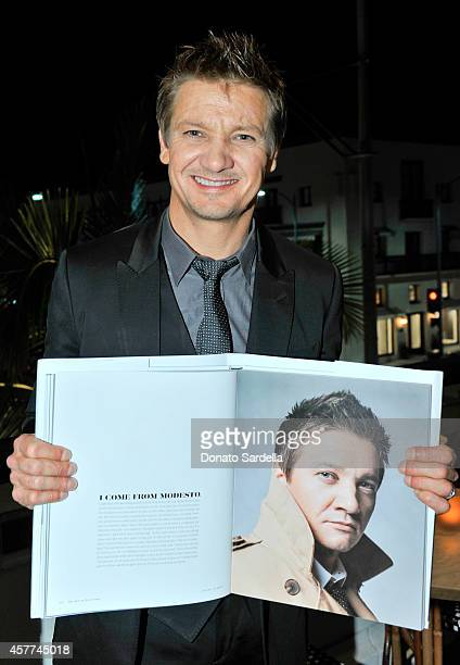 Actor Jeremy Renner attends Brooks Brothers Hosts The LA Launch For The New Book 'The Art of Discovery' at Brooks Brothers Rodeo on October 23 2014...