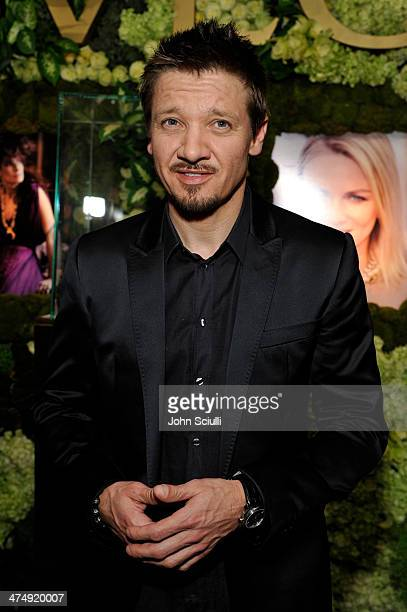 Actor Jeremy Renner attends 'Decades of Glamour' presented by BVLGARI on February 25 2014 in West Hollywood California