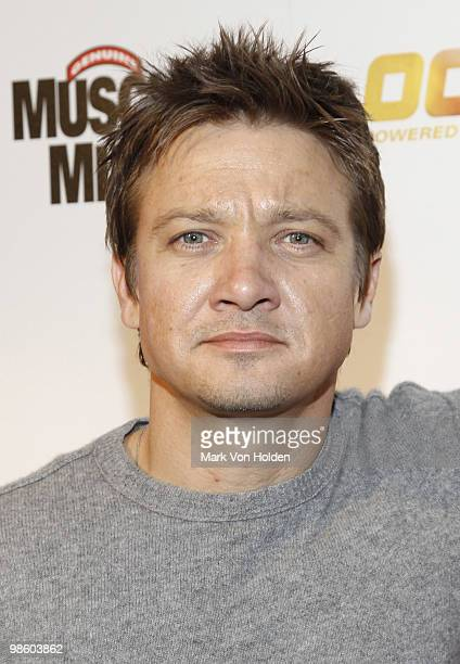 Actor Jeremy Renner attends ESPN the Magazine's 7th Annual PreDraft Party at Espace on April 21 2010 in New York City