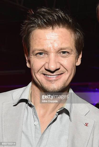 Actor Jeremy Renner attends the 13th Annual ESPN The Party on February 3 2017 in Houston Texas
