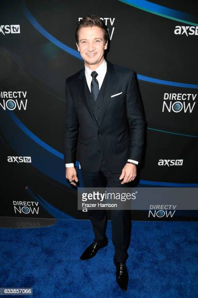 Actor Jeremy Renner attends the 2017 DIRECTV NOW Super Saturday Night Concert at Club Nomadic on February 4 2017 in Houston Texas