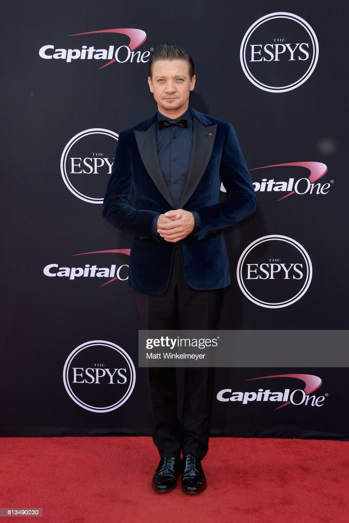 Actor Jeremy Renner attends The 2017 ESPYS at Microsoft Theater on July 12, 2017 in Los Angeles, California.
