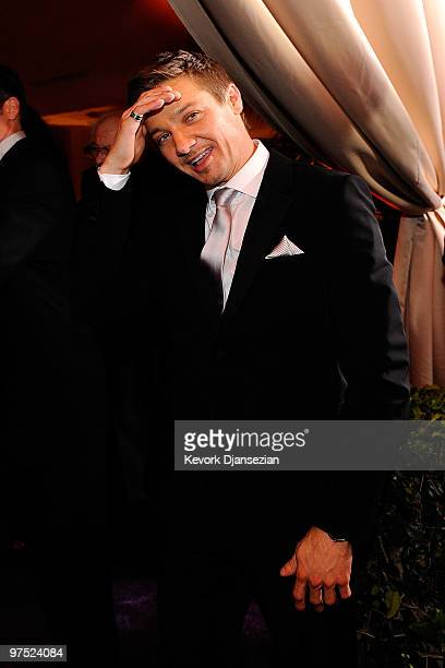 Actor Jeremy Renner attends the 82nd Annual Academy Awards Governor's Ball held at Kodak Theatre on March 7 2010 in Hollywood California