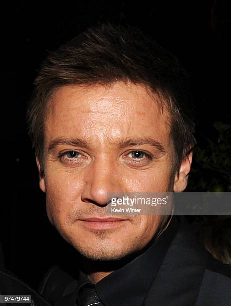 Actor Jeremy Renner attends The Hollywood Reporter's Nominees' Night Prelude to Oscar presented by Bing and MSN at the Mayor's Residence on Thursday...