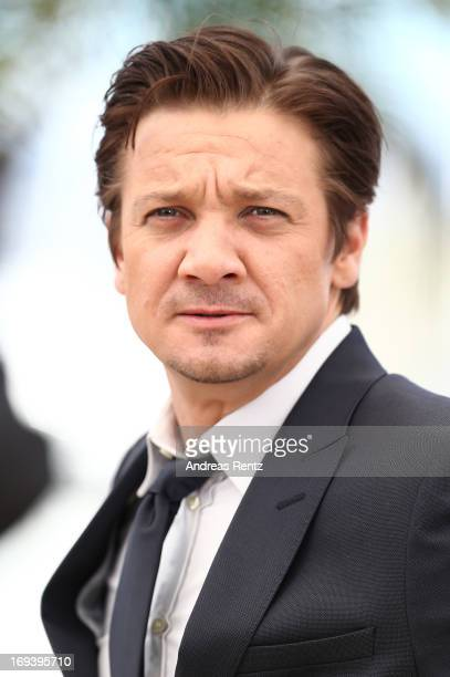 Actor Jeremy Renner attends 'The Immigrant' photocall during The 66th Annual Cannes Film Festival at he Palais des Festivals on May 24 2013 in Cannes...