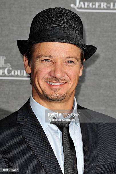Actor Jeremy Renner attends the Jaeger LeCoultre Party during the 67th Venice Film Festival at the Teatro alle Tese on September 7 2010 in Venice...