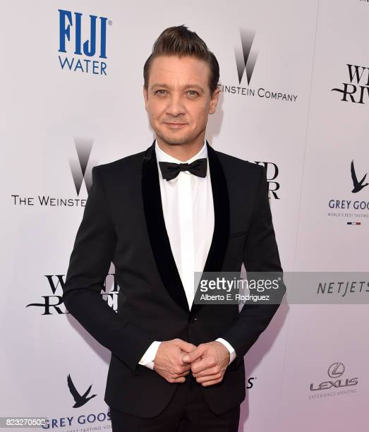 Actor Jeremy Renner attends the premiere of The Weinstein Company's 'Wind River' at The Theatre at Ace Hotel on July 26 2017 in Los Angeles California