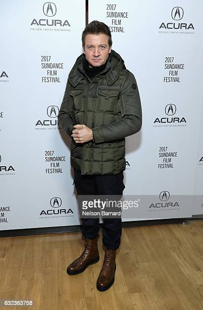 Actor Jeremy Renner attends the 'Wind River' Party at the Acura Studio at Sundance Film Festival on January 21 2017 in Park City Utah