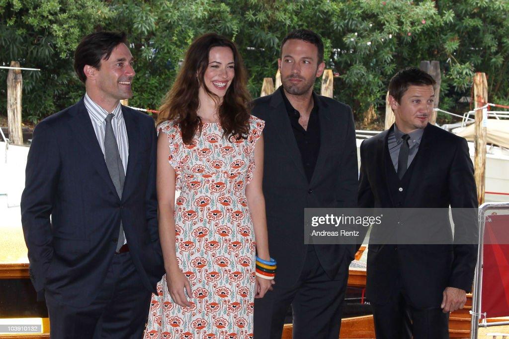 Celebrity Sightings - Day Eight: 67th Venice Film Festival : News Photo