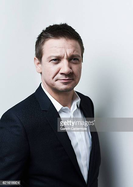 Actor Jeremy Renner is photographed during the 60th BFI London Film Festival at the Corinthia Hotel on October 11 2016 in London England
