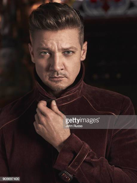 Actor Jeremy Renner is photographed for Esquire Magazine on September 13 2017 in Los Angeles California PUBLISHED IMAGE