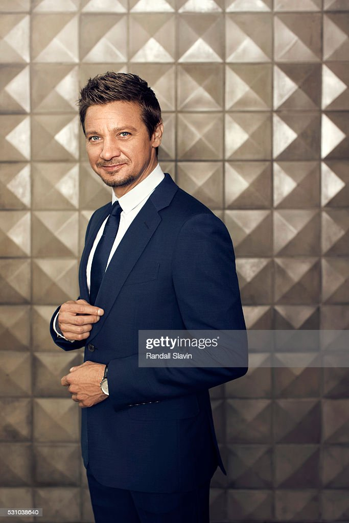 Actor Jeremy Renner is photographed for Robb Report on March 12, 2016 in Hollywood, California.