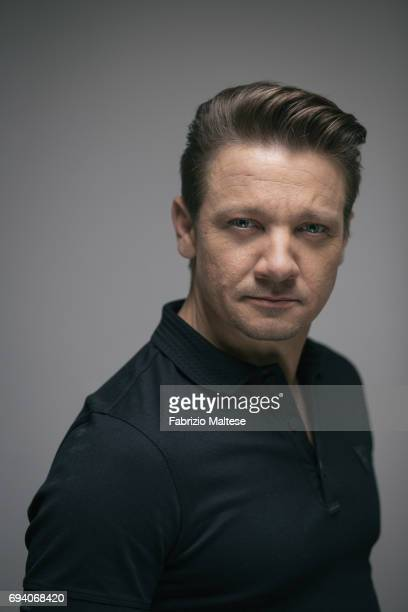 Actor Jeremy Renner is photographed for the Hollywood Reporter on May 21 2017 in Cannes France