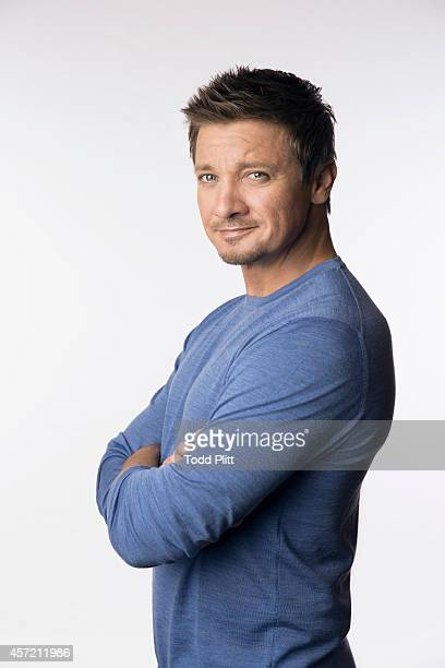 Actor Jeremy Renner is photographed for USA Today on September 22 2014 in New York City