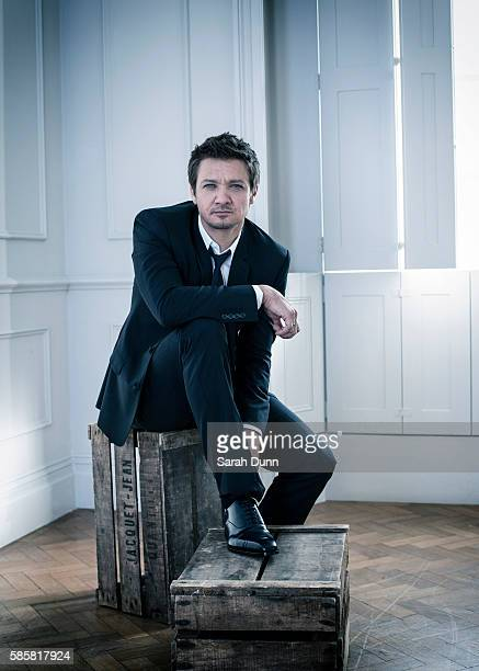 Actor Jeremy Renner is photographed on April 29 2014 in London England