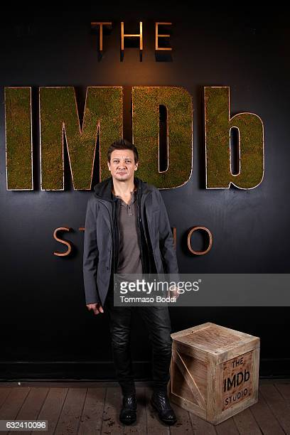 Actor Jeremy Renner of Wind River attends The IMDb Studio featuring the Filmmaker Discovery Lounge presented by Amazon Video Direct Day Three during...