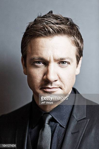 Actor Jeremy Renner poses at a portrait session at the 2010 Toronto International Film Festival in Toronto CAN on September 10 2010