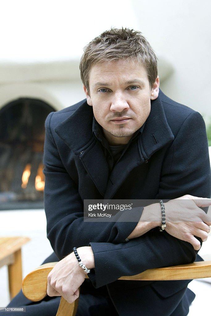Jeremy Renner, Los Angeles Times, December 16, 2010 : News Photo