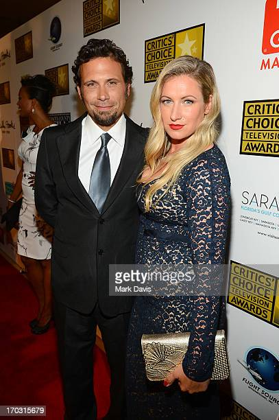 Actor Jeremy Sisto and Addie Lane arrive at Broadcast Television Journalists Association's third annual Critics' Choice Television Awards at The...