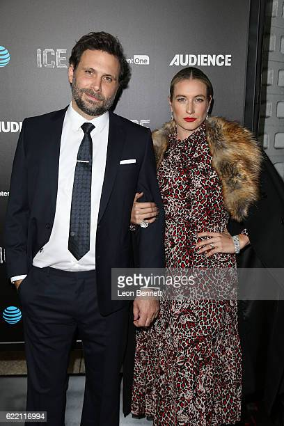 Actor Jeremy Sisto and Addie Lane arrive at the Premiere Of Audience Network's Ice Arrivals at ArcLight Cinemas on November 9 2016 in Hollywood...