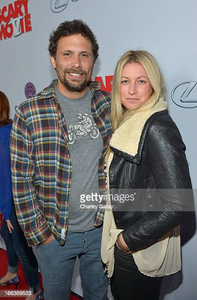 Actor Jeremy Sisto and Addie Lane arrives at the premiere of Scary Movie V presented by Dimension Films in partnership with Lexus and Chambord at the...
