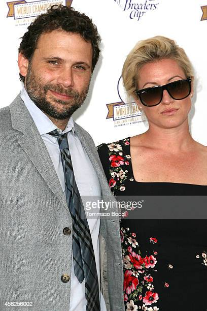 Actor Jeremy Sisto and Addie Lane attend the 2014 Breeders' Cup World Championships held at the Santa Anita Park on November 1 2014 in Arcadia...