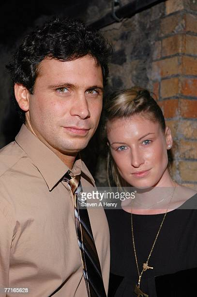 Actor Jeremy Sisto and Addie Lane attend the after party for The Premiere of Broken at D'OR At Amalia October 2 2007 in New York City