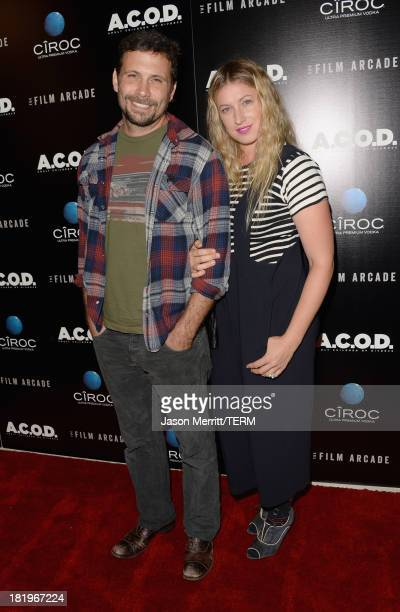 Actor Jeremy Sisto and Addie Lane attend the premiere of The Film Arcade's ACOD at the Landmark Theater on September 26 2013 in Los Angeles California