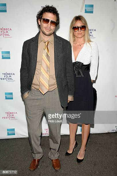 Actor Jeremy Sisto and Addie Lane attends the premiere of Ball Don't Lie during the 2008 Tribeca Film Festival on April 26 2008 in New York City