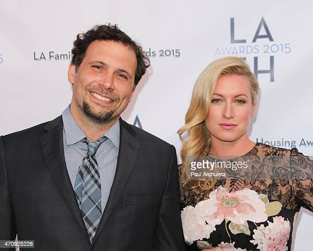 Actor Jeremy Sisto and his Wife attend the LA Family Housing Awards 2015 at The Lot on April 23 2015 in West Hollywood California