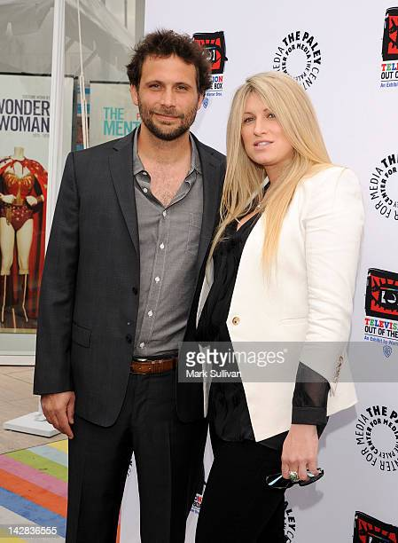 Actor Jeremy Sisto and wife Addie Lane arrive at the Paley Center's opening of Television Out Of The Box at The Paley Center for Media on April 12...