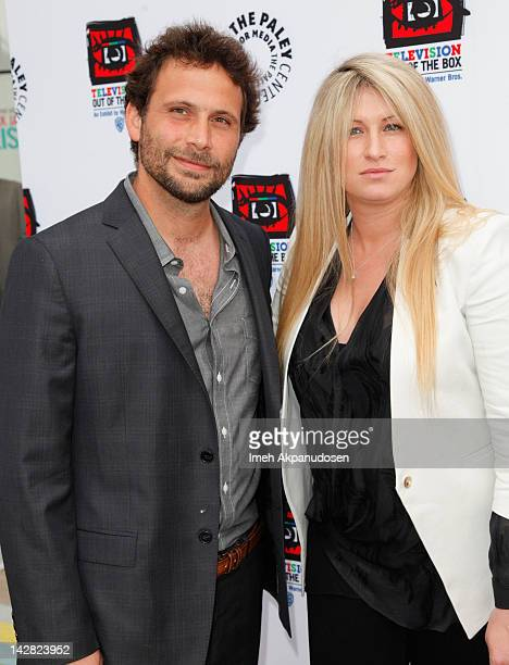 Actor Jeremy Sisto and wife Addie Lane attend the Paley Center's opening of Television Out Of The Box at The Paley Center for Media on April 12 2012...
