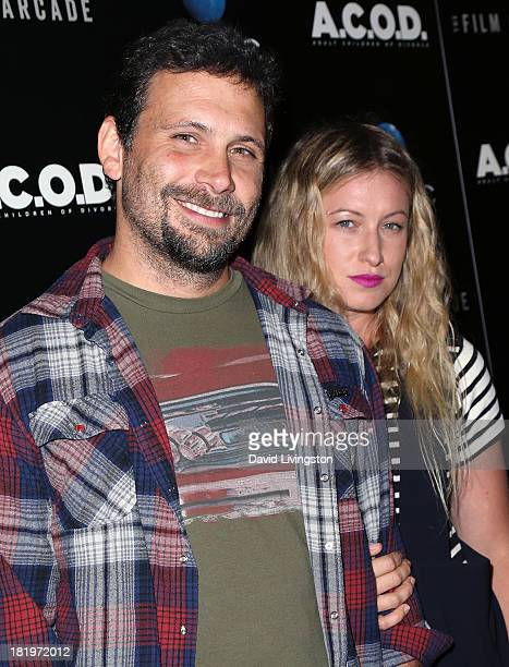 Actor Jeremy Sisto and wife Addie Lane attend the premiere of the Film Arcade's ACOD at the Landmark Theater on September 26 2013 in Los Angeles...