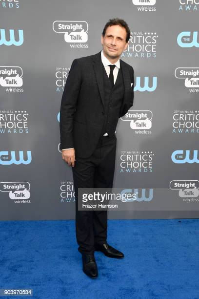 Actor Jeremy Sisto attends The 23rd Annual Critics' Choice Awards at Barker Hangar on January 11 2018 in Santa Monica California