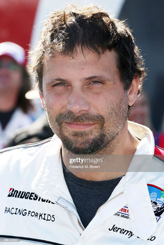 Actor Jeremy Sisto attends the 37th Annual Toyota Pro/Celebrity Race-Practice Day on April 9, 2013 in Long Beach, California.