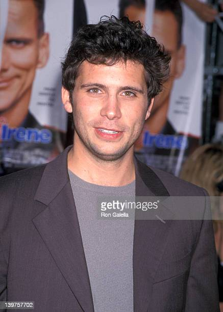 Actor Jeremy Sisto attends the premiere of Me Myself Irene on June 15 2000 at 20th Century Fox Studios in Century City California