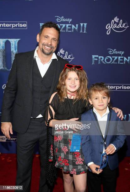 Actor Jeremy Sisto Charlie Ballerina Sisto and Bastian Kick Sisto attend the world premiere of Disney's Frozen 2 at Hollywood's Dolby Theatre on...