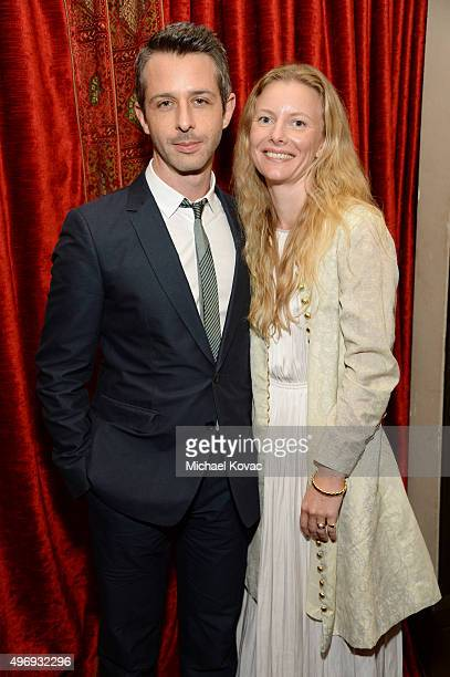 Actor Jeremy Strong and Emma Wall attend the after party for the closing night gala premiere of Paramount Pictures' The Big Short during AFI FEST...