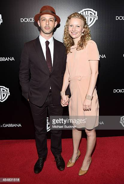 Actor Jeremy Strong and guest attend the Warner Bros Pictures and Dolce Gabbana TIFF cocktail party during the 2014 Toronto International Film...