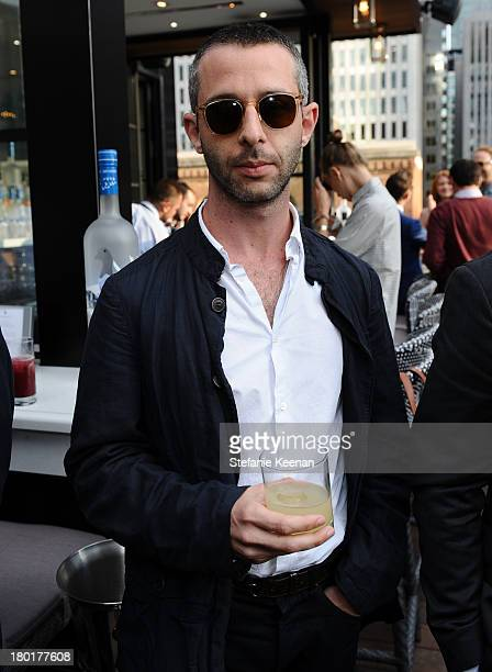 """Actor Jeremy Strong at the Grey Goose vodka and Hudson's Bay dinner for """"The Disappearance of Eleanor Rigby"""" at Chase on September 9, 2013 in..."""