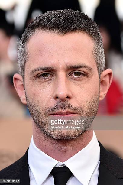 Actor Jeremy Strong attends the 22nd Annual Screen Actors Guild Awards at The Shrine Auditorium on January 30 2016 in Los Angeles California