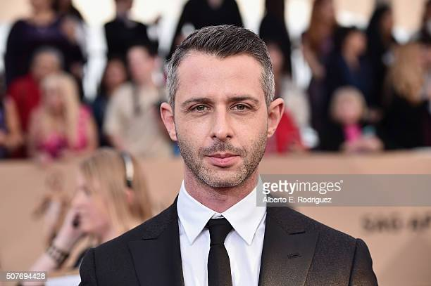 Actor Jeremy Strong attends the 22nd Annual Screen Actors Guild Awards at The Shrine Auditorium on January 30, 2016 in Los Angeles, California.